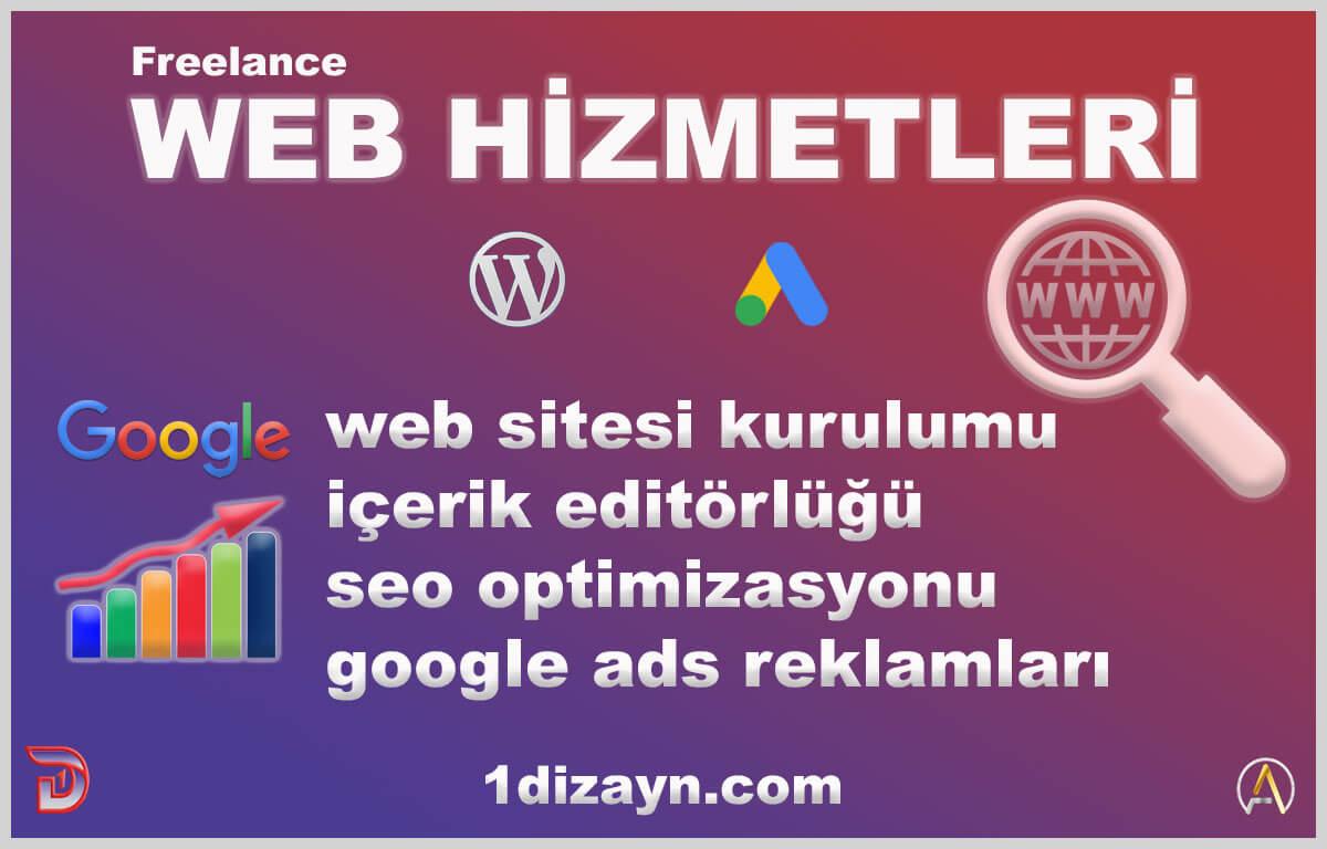 Freelance Web Hizmetleri