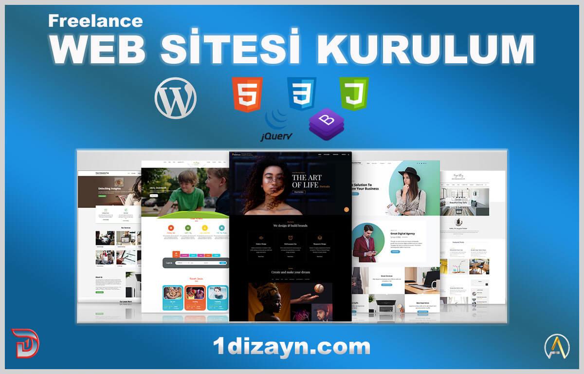 web sitesi kurulum hizmeti